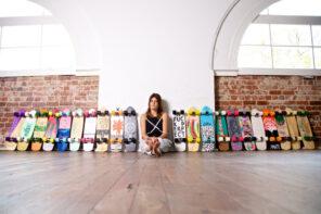 Les skateboads boho Ames Collective