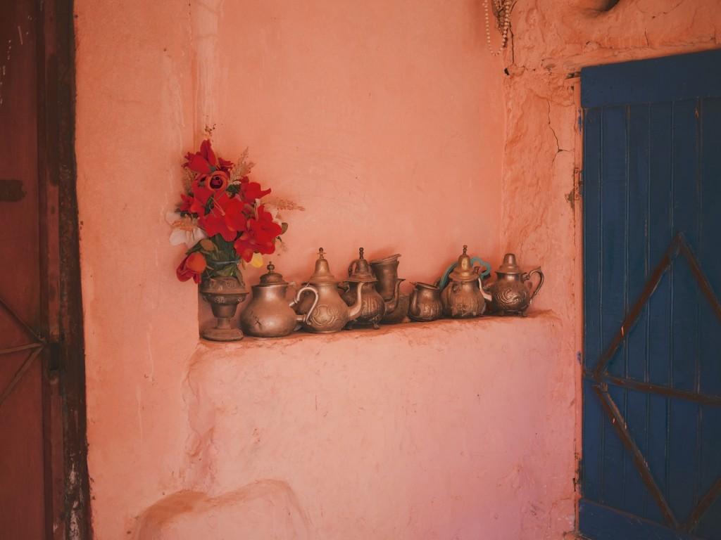 Théières marocaines