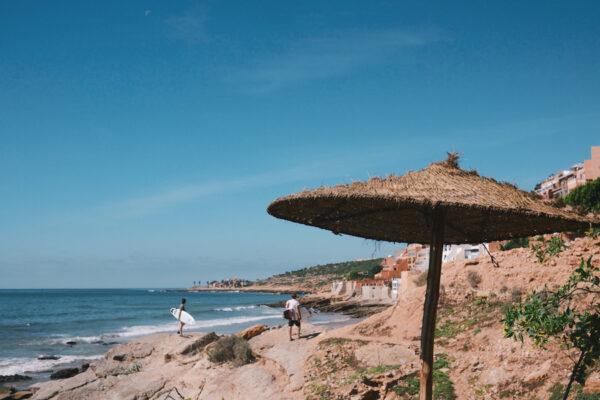 Surfeurs à Hash Point, Taghazout