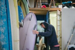 Les tailles de surf en centimètres